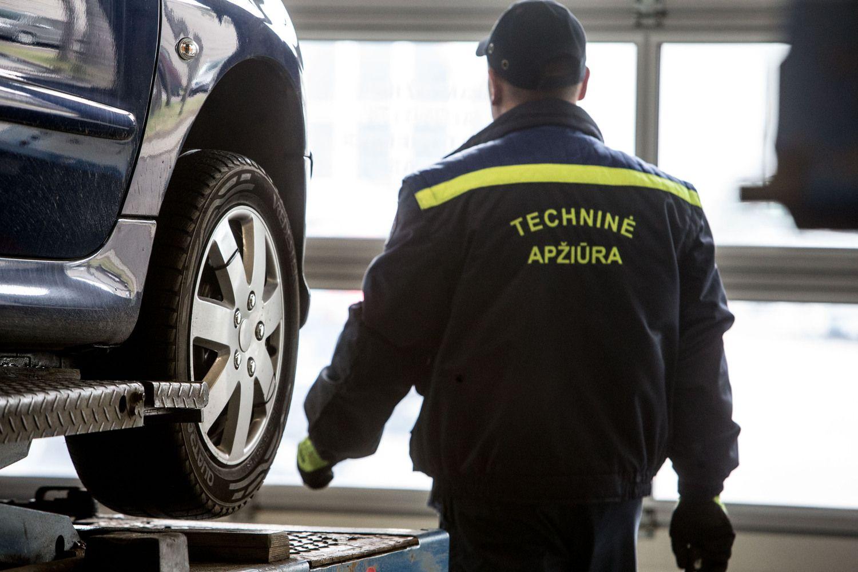 Apie techninę apžiūrą pamiršta kas dešimtas vairuotojas