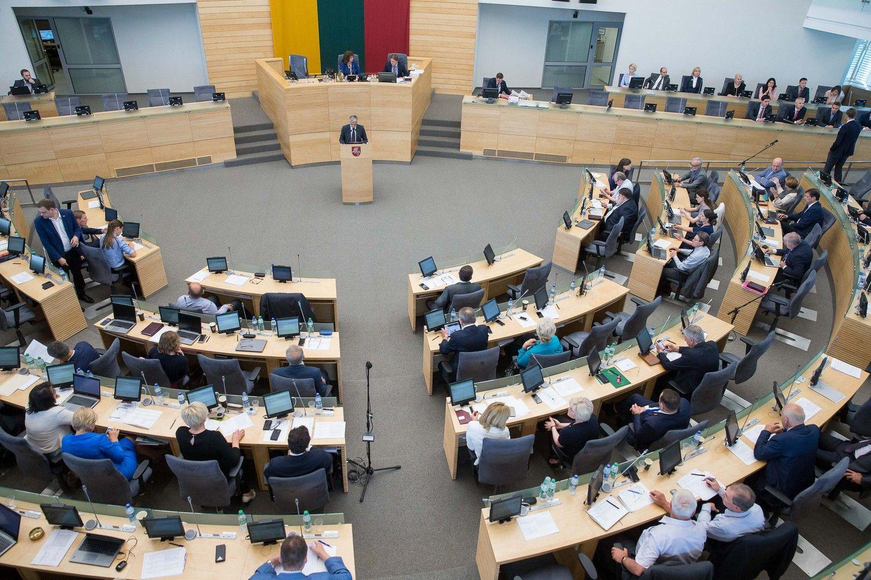 Seimas renkasi į rudens sesiją: sąraše – 530 darbų