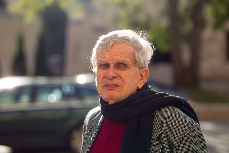 Tomas Venclova (g. 1937) – poetas, publicistas, vertėjas, Jeilio universiteto (JAV) profesorius. Irmanto Gelūno (15MIN./SCANPIX) nuotr.