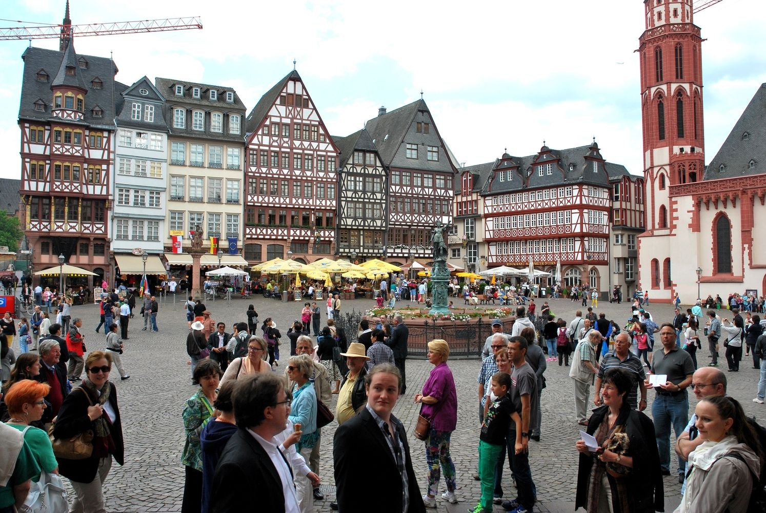 Frankfurtas nuo kitų metų įves mokestį turistams