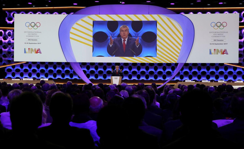 Oficialu:būsimos olimpiados vyks Paryžiuje ir Los Andžele