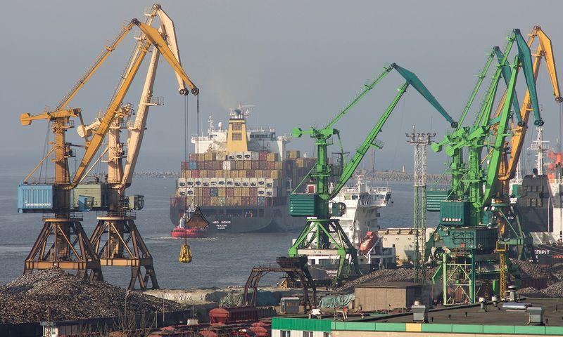 Klaipėdos uostas – eksporto vartai. Algimanto Kalvaičio nuotr.