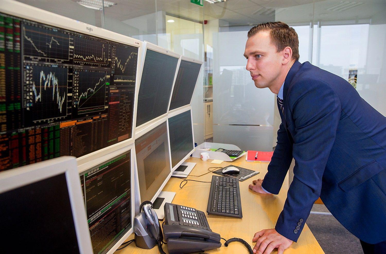 Šiaulių banko prekyba iliustruoja atoslūgį Vilniaus biržoje