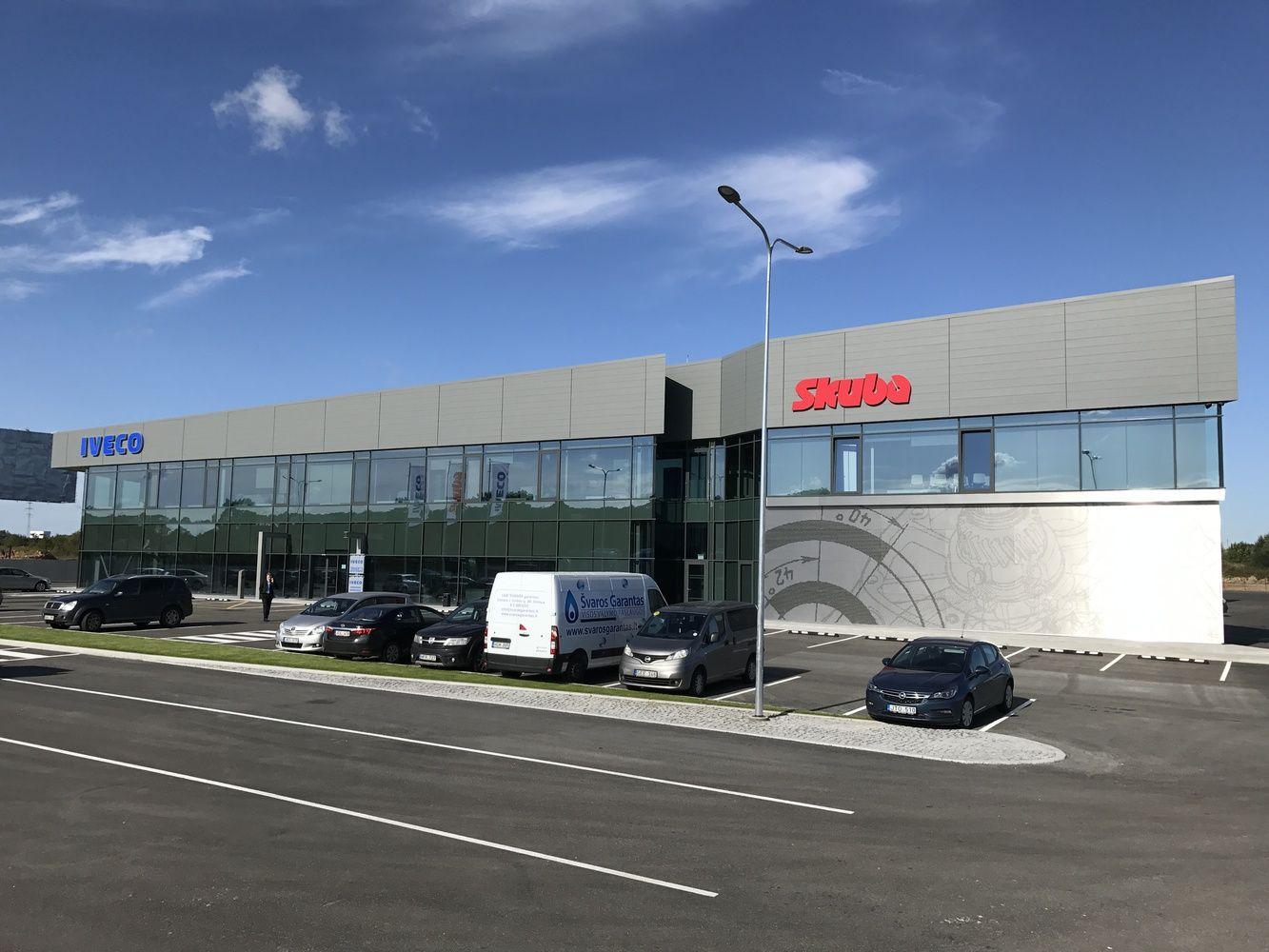 Į naująvilkikų pardavimo ir priežiūros centrąinvestavo 6,6 mln. Eur