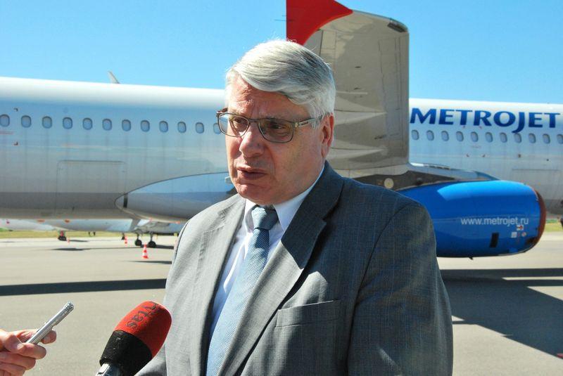 Bruno Kasparas, Kauno oro uosto direktorius. Indrės Sesartės (VŽ) nuotr.