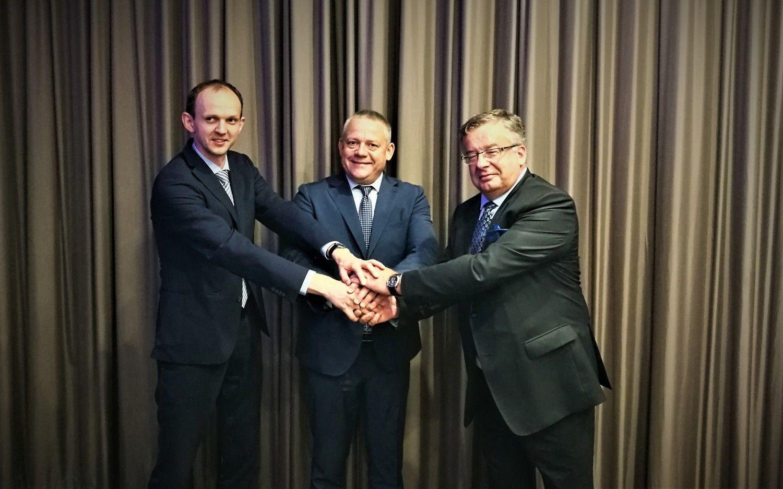 Lietuvos, Lenkijos ir Ukrainos oro navigacijos paslaugų teikėjai surėmė pečius