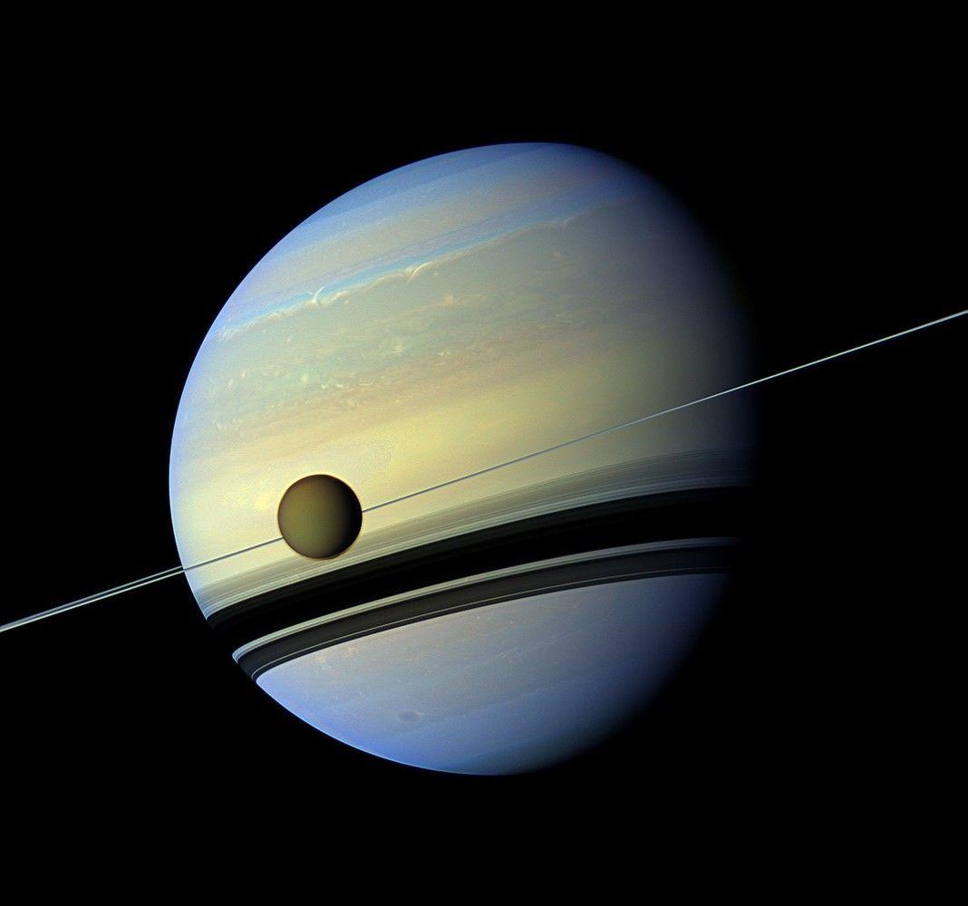 """Cassini"" Saturno misija – baigta"