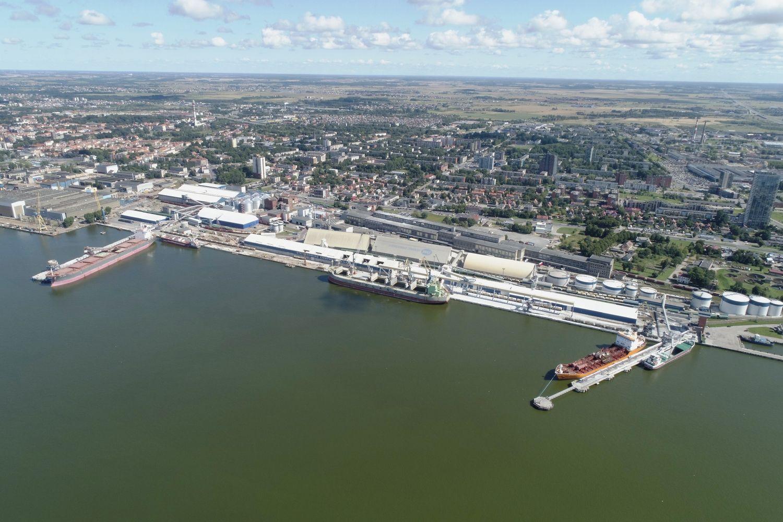 Klaipėdos uoste – 12 mln. Eur investicijos į naują infrastruktūrą ir grūdų krovos kompleksą