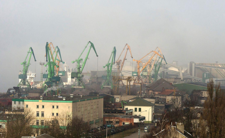 Klaipėdos uoste atnaujinama laivyba