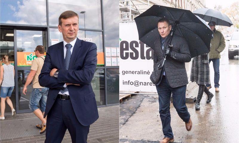Dainius Dundulis (kairėje) ir Mindaugas Marcinkevičius VŽ koliažas