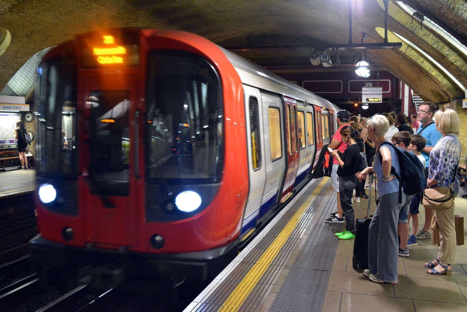 Policija sulaikė įtariamąjį dėl nelaimės Londono metro