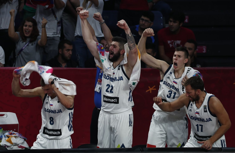 Slovėnija tapo Europos krepšinio čempione