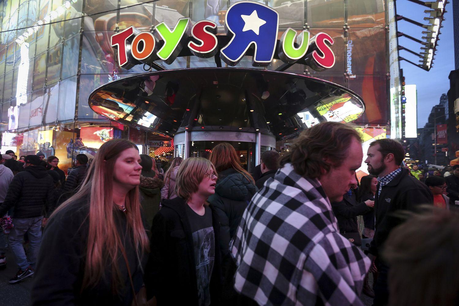 Elektroninė prekyba sužlugdė JAV žaislų prekybininką