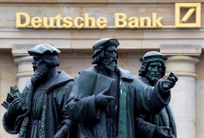 "11 potencialių krizės židinių pagal ""Deutsche Bank"""