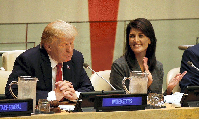 Trumpo kalba JT: JAV gali prireikti visiškai sunaikinti Šiaurės Korėją