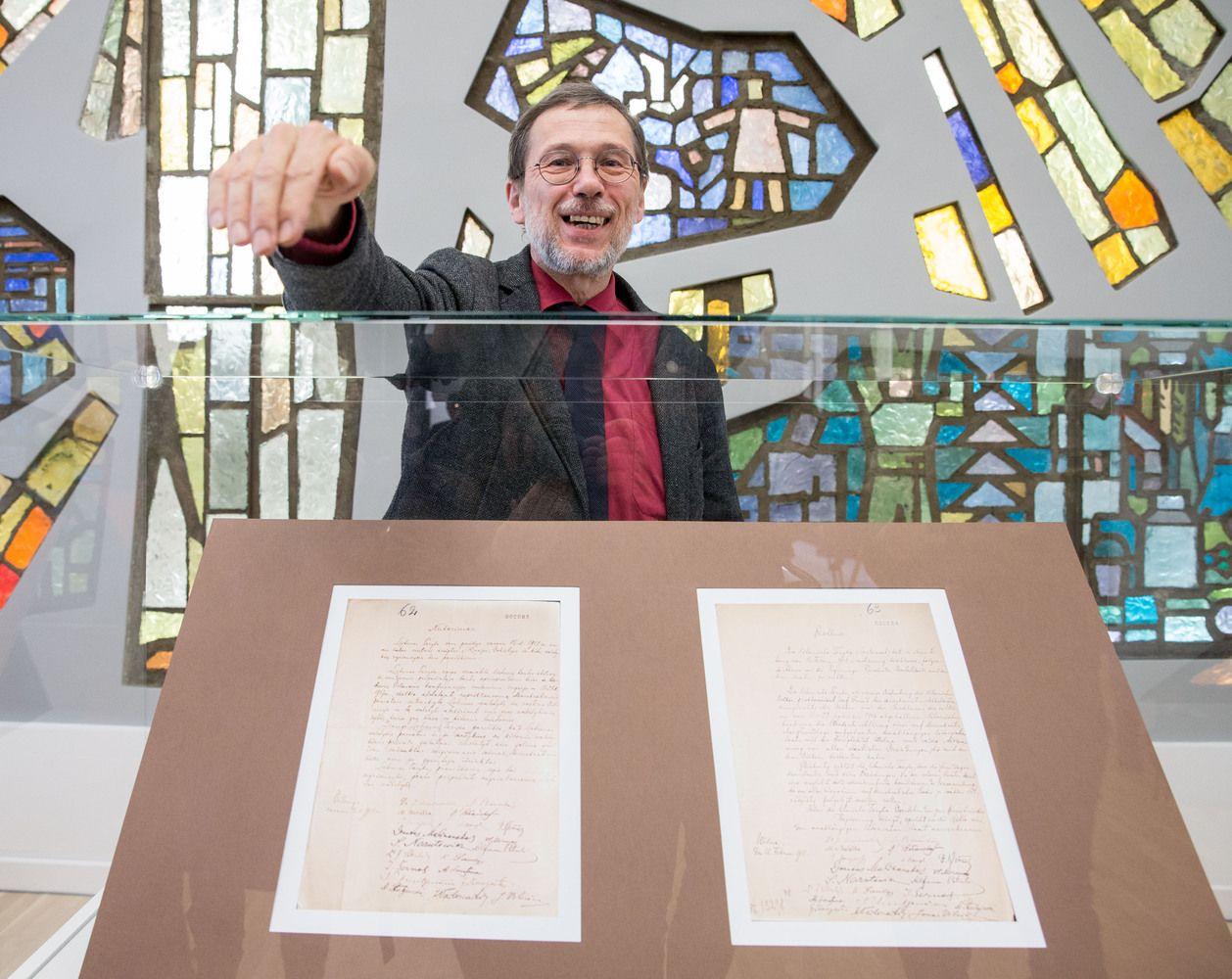 Vasario 16-osios aktas bus eksponuojamas Signatarų namuose
