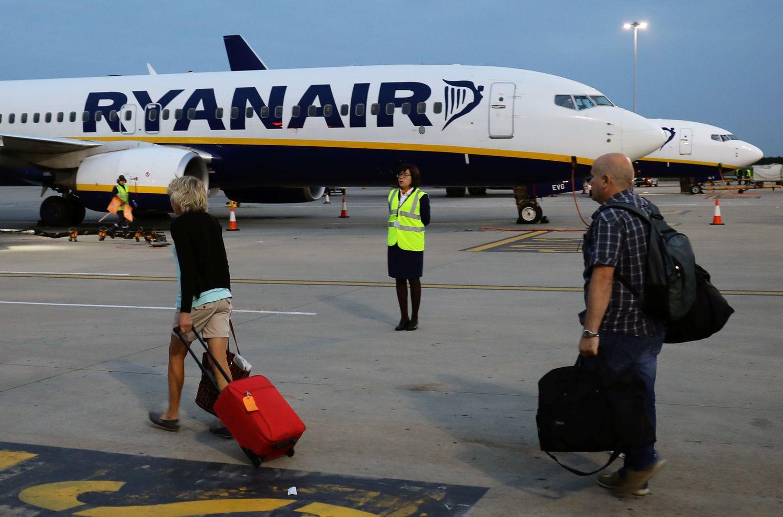 """Lietuva į """"Ryanair"""" sukeltą chaosą kol kas nepateko, dėl spalio – nežinia"""