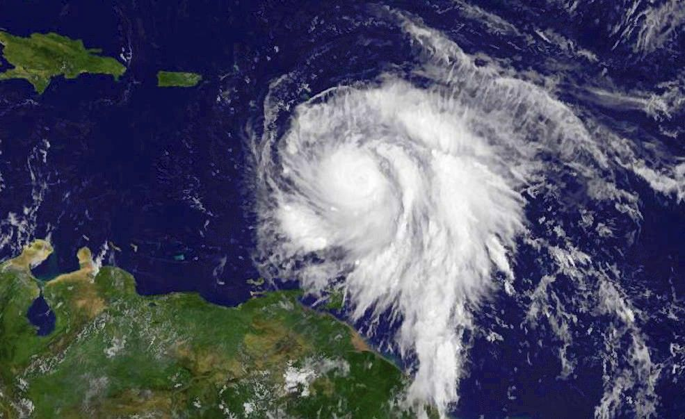 Marija niokoja Karibų jūrosregioną