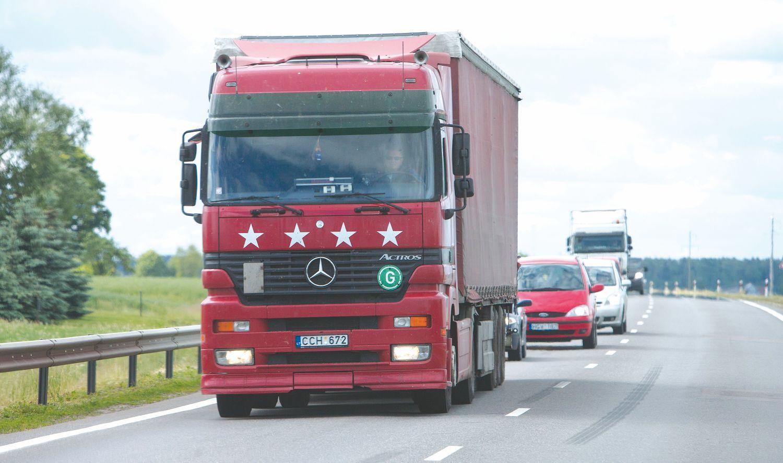 Transporto sektorius didina pagreitį