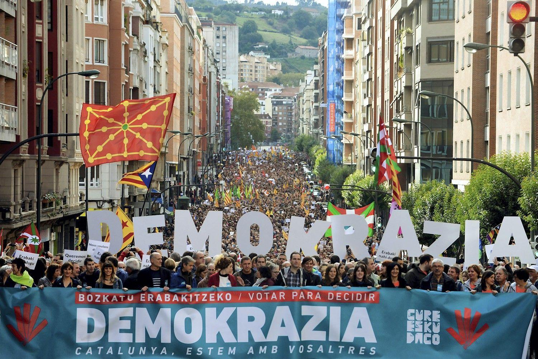 Ispanijos policija atliko kratą, suėmė pareigūnus Katalonijos vyriausybėje