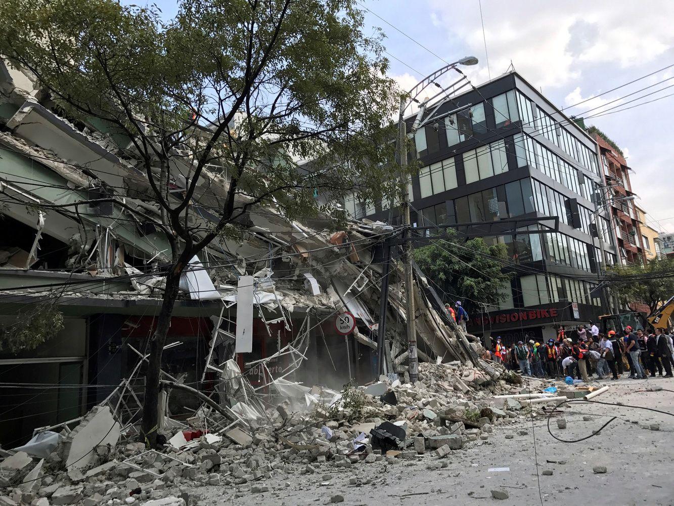 Žemės drebėjimas Meksikoje pražudė 150 žmonių