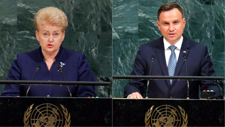 Lietuvos ir Lenkijos prezidentai pasikalbėjo apie sinchronizaciją