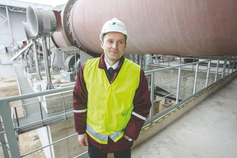 Cemento eksportui – naujas krovos terminalas Klaipėdos uoste