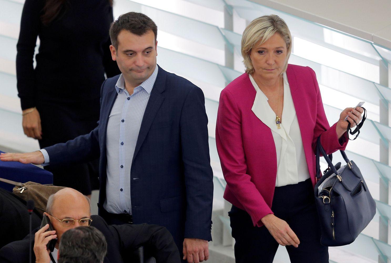 Prancūzijos Nacionalinis frontas eižėja: traukiasi buvęs Marine Le Pen  bendražygis