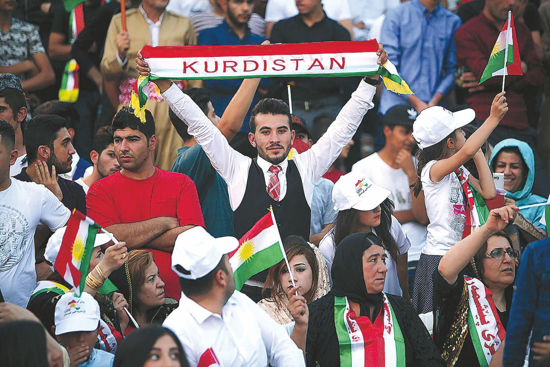Nepaisydami spaudimo, kurdai ryžtingai juda link nepriklausomybės