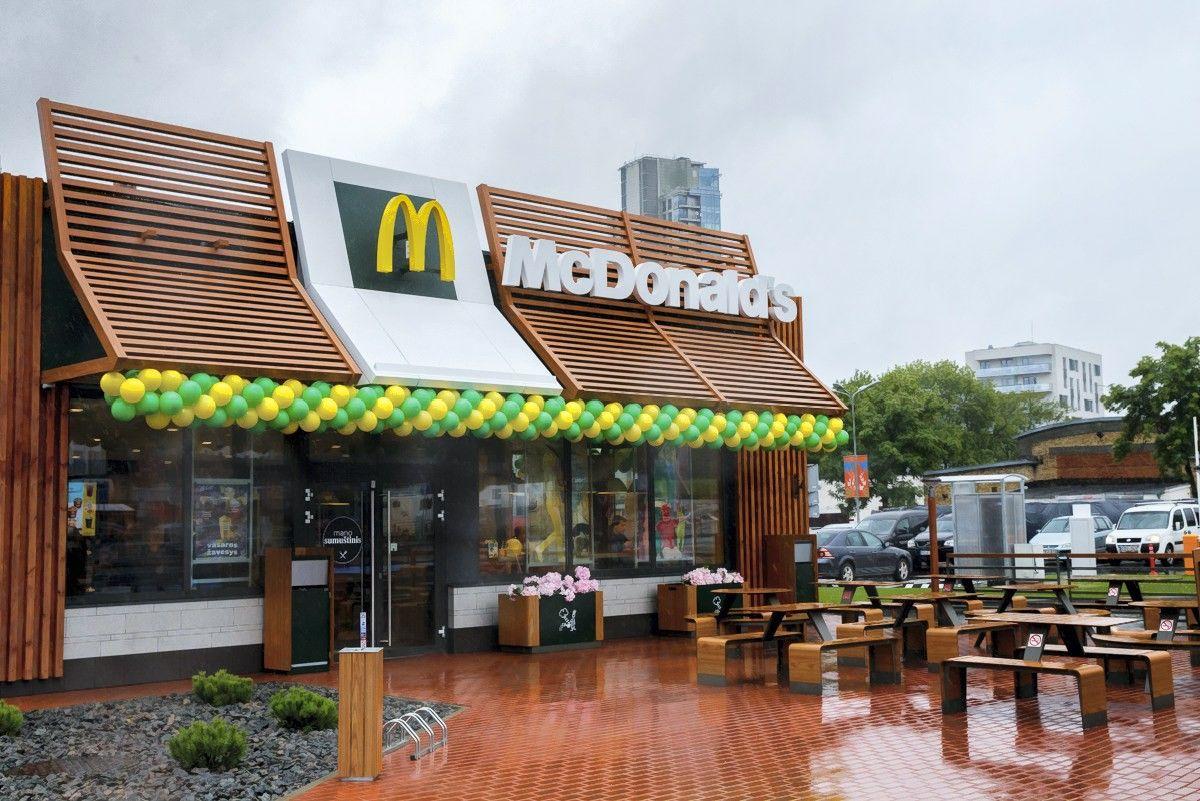 """Visuose """"McDonald's"""" restoranuose Lietuvoje per 2018 m. atsiras savitarnos sistemos"""
