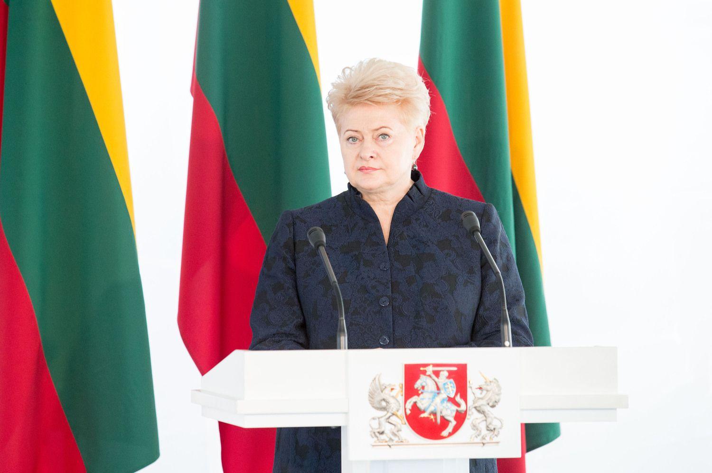 Grybauskaitė apie LSDP sprendimą: įeiname į politinio nestabilumo etapą