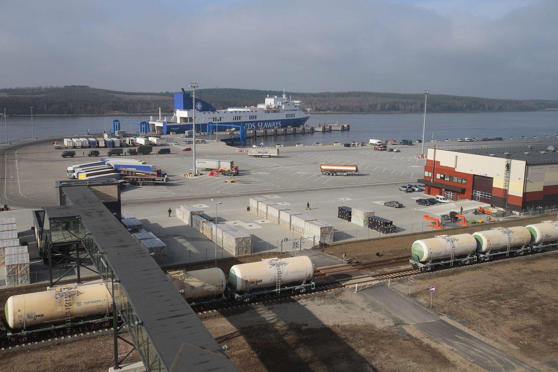 DFDS kraustynės Klaipėdoje: naujajame terminale siekiama šveicariško tikslumo