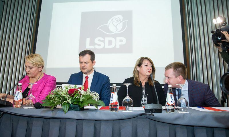 Lietuvos socialdemokratų partijos (LSDP) tarybos posėdis.