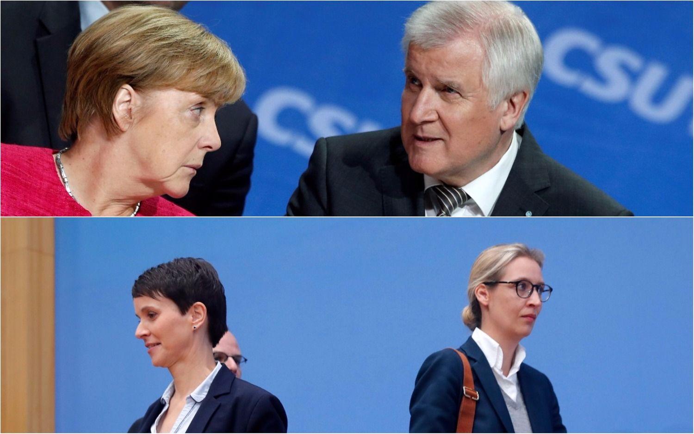 Vokietija po Bundestago rinkimų: antausių nugalėtojams diena