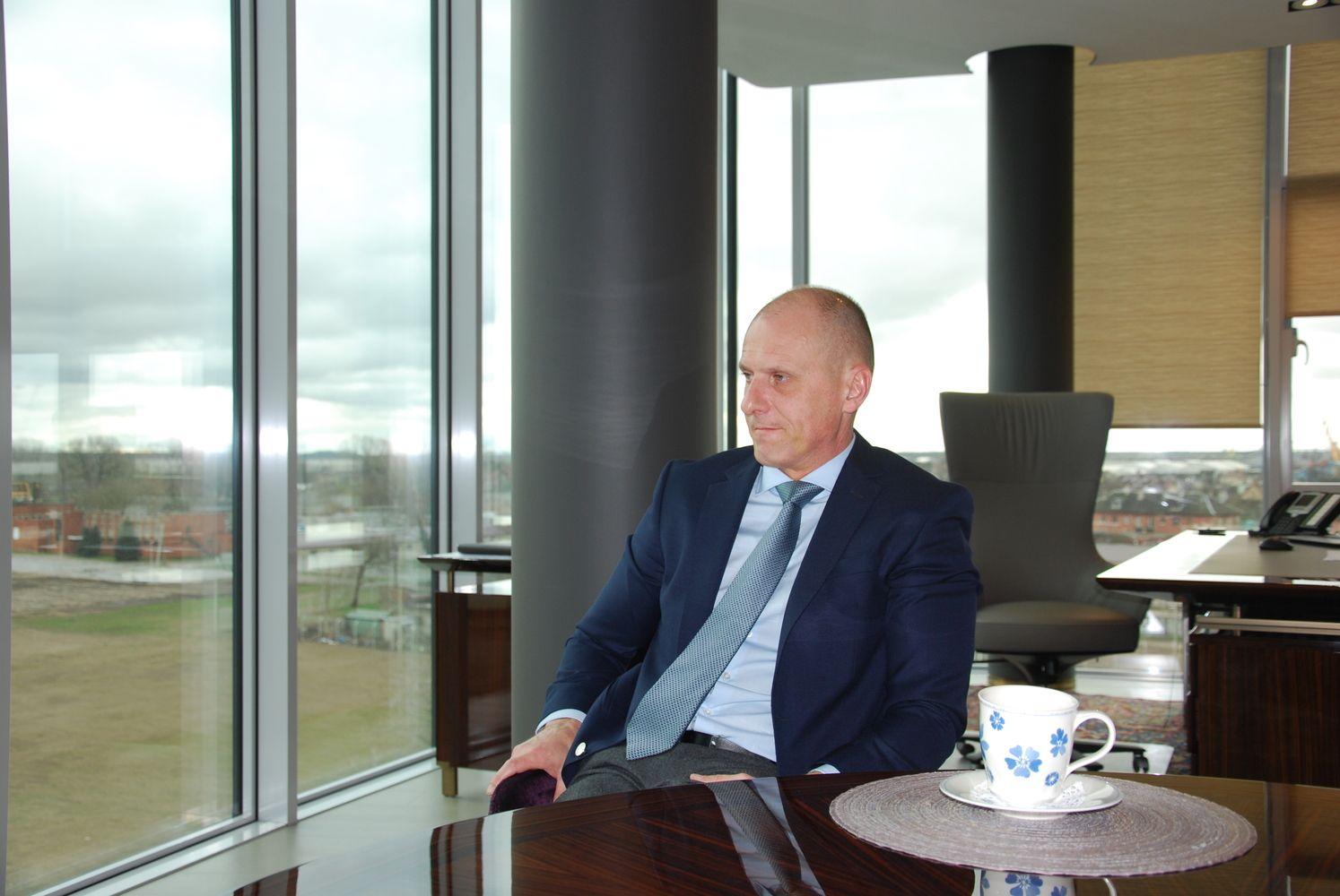 Uosto bendrovės investicijų variklis sukasi milžinišku tempu