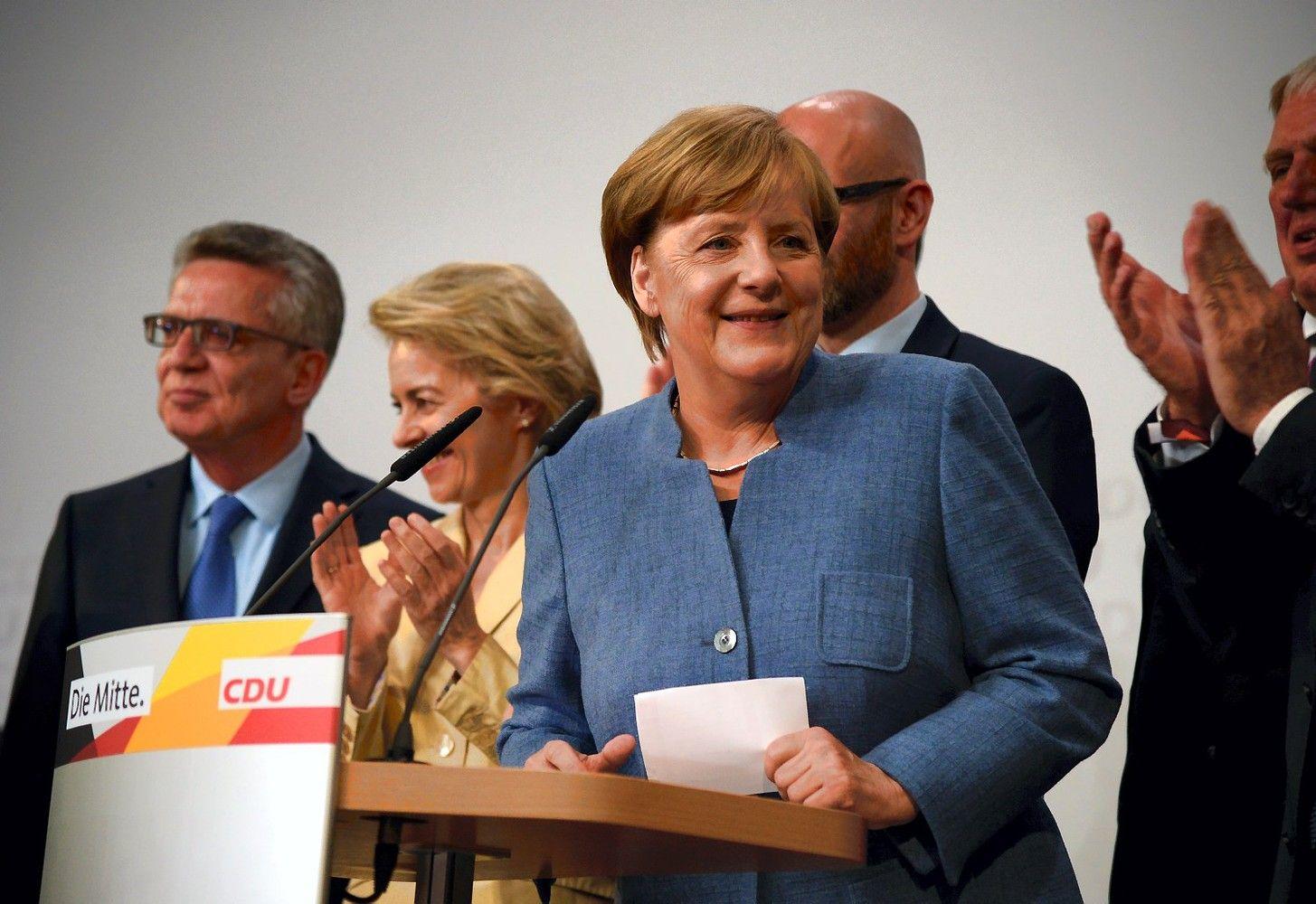 Nesaldi Merkel pergalė