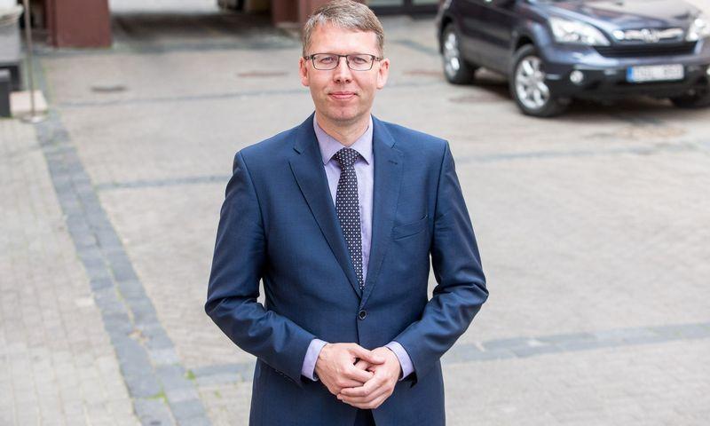 """Aidas Ignatavičius, UAB """"Vilniaus vandenys"""" generalinis direktorius. Vladimiro Ivanovo (VŽ) nuotr."""