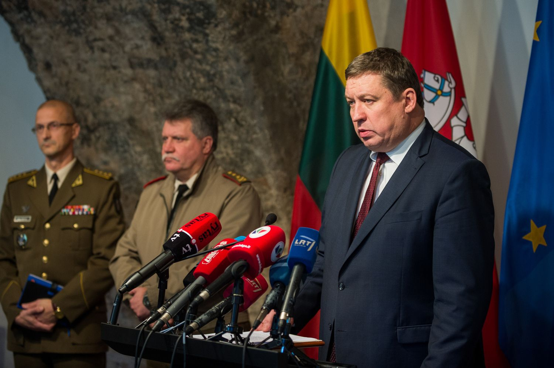 "Karoblis: per ""Zapad"" Rusija treniravosi pulti Baltijos šalis"