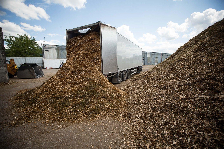 Biokuro biržoje šilumininkaipasigenda konkurencijos