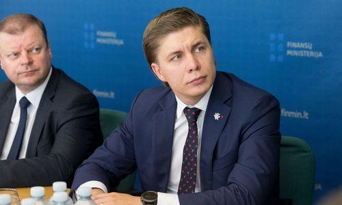 Mindaugas Sinkevičius nenusiteikęs likti ūkio ministru, premjeras dar svarsto