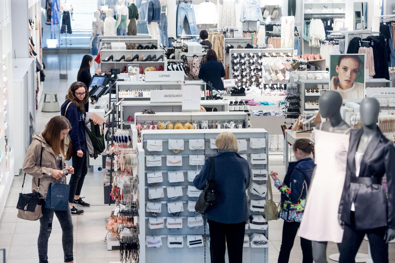 Mažmeninės prekybos įmonių apyvarta – beveik milijardas
