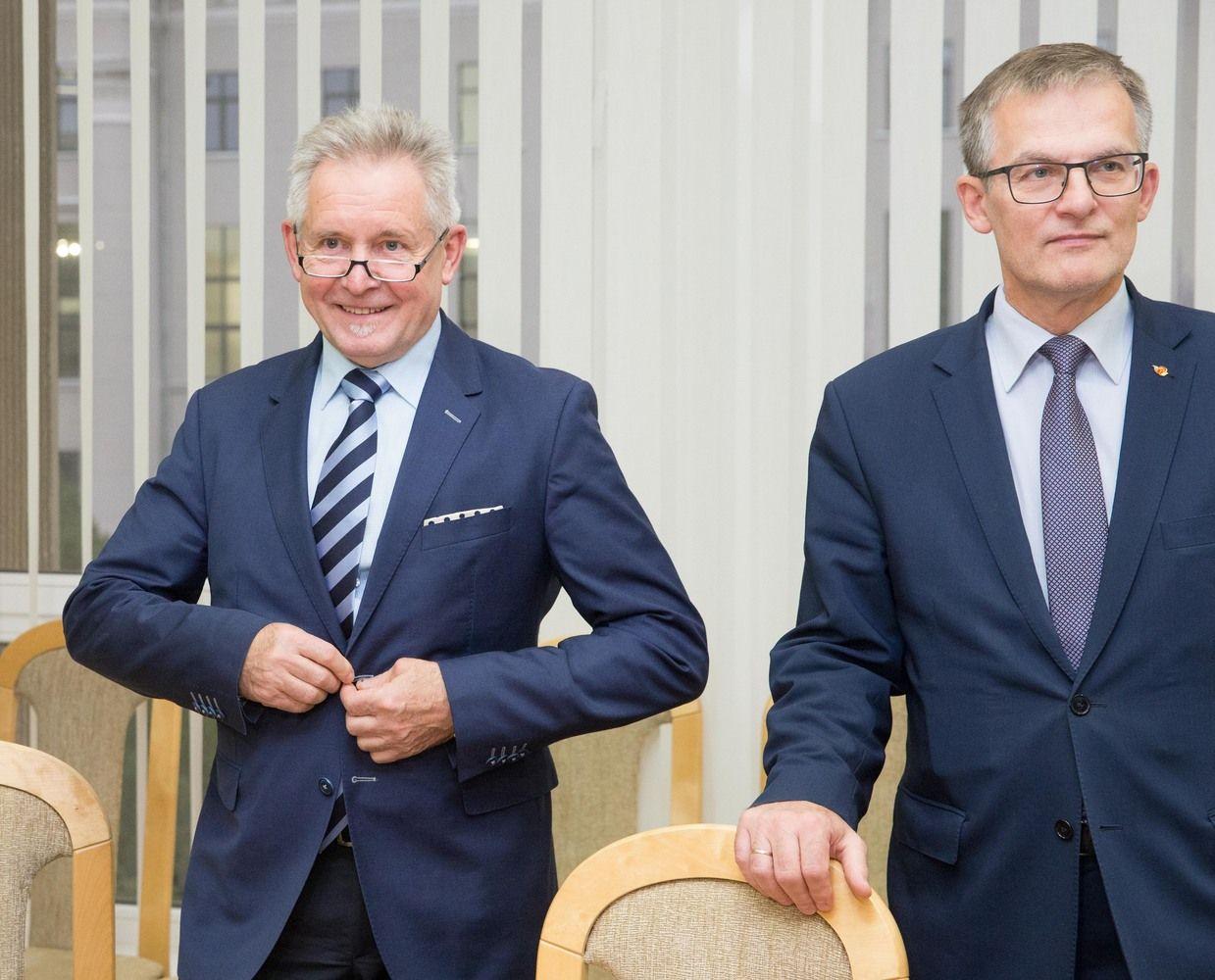 Sysas ir Sabatauskas kol kas lieka vadovauti Seimo komitetams
