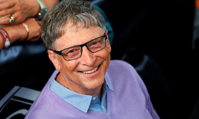 "Billas Gatesas. Ricko Wilkingo (""Scanpix""/""Reuters"") nuotr."