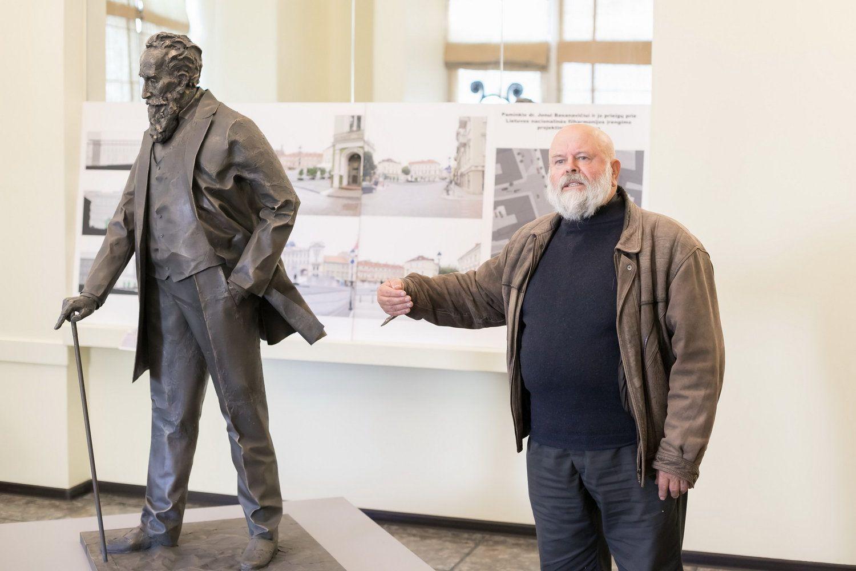 Nuspręsta: paminklas dr. Jonui Basanavičiui Vilniuje stovės kitų metų lapkritį