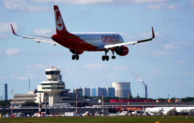 """Bankrutuojančios """"Air Berlin"""" likimas – """"Lufthansos"""" rankose"""