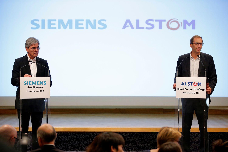 """""""Siemens"""" ir """"Alstom"""" jungia padalinius, kad atremtų Kiniją"""