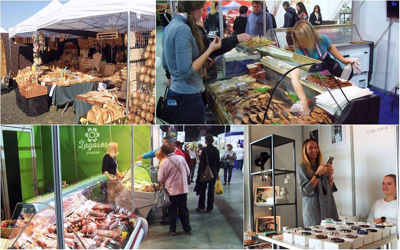 """Ūgtelėjusi paroda """"Rinkis prekę lietuvišką"""" rodo rinkos pakilimą"""