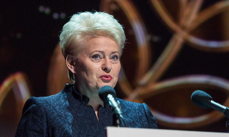 Dalia Grybauskaitė, prezidentė. Laimos Penekaitės nuotr.