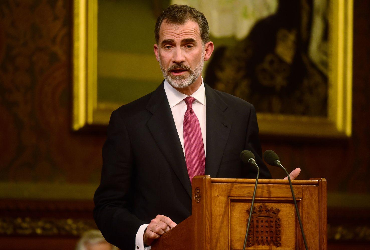 Ispanijos karalius: Katalonijos referendumas – nelegalus