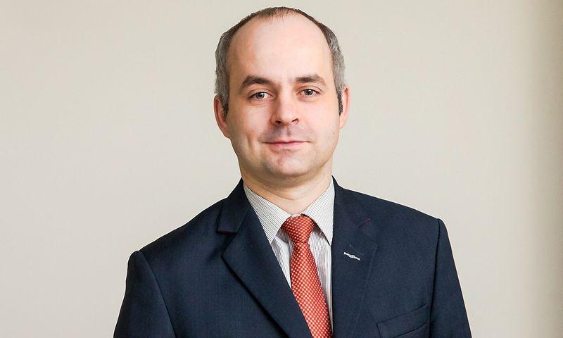 """Kostas Noreika, """"Paysera"""" generalinis direktorius. Juditos Grigelytės (VŽ) nuotr."""